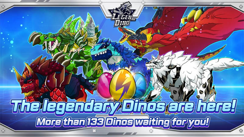 Legendino - The legendary Dinos are here More than 133 Dinos waiting for you