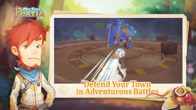 My Time at Portia - Defend Your Town in Adventurous Battles