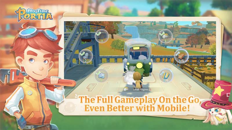 My Time at Portia - The Full Gameplay On the Go Even Better with Mobile