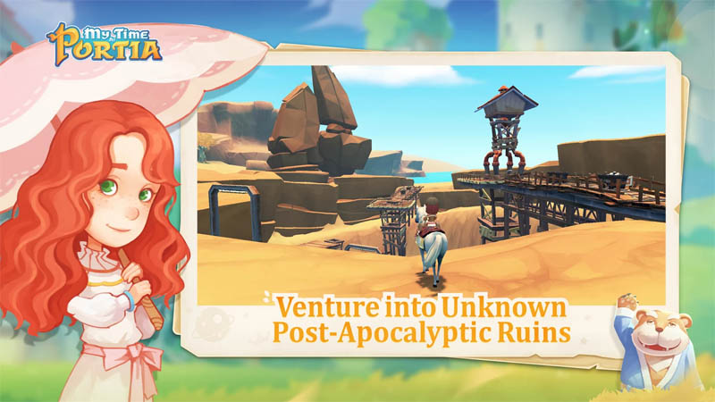 My Time at Portia - Venture into Unknown Post Apocalyptic Ruins