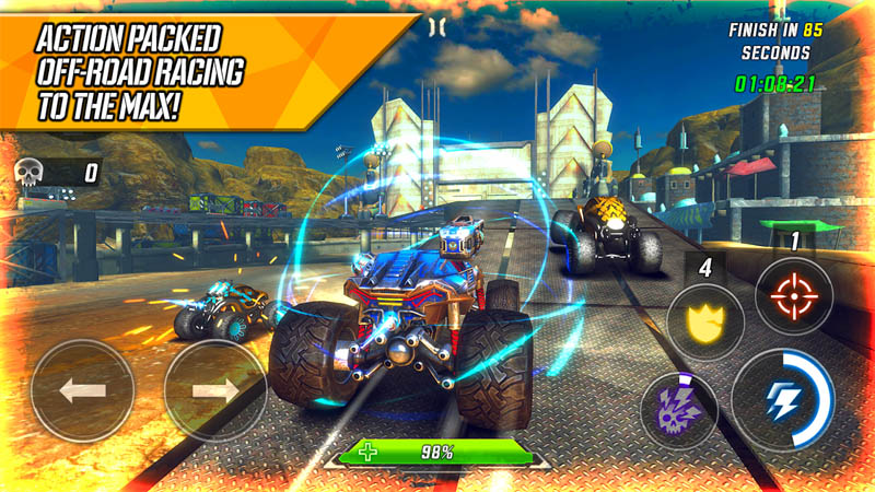 RACE Rocket Arena Car Extreme - Action Packed Off Road Racing To The Max