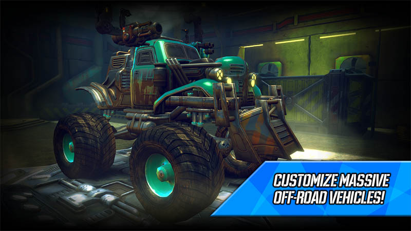 RACE Rocket Arena Car Extreme - Customize Massive Off Road Vehicles