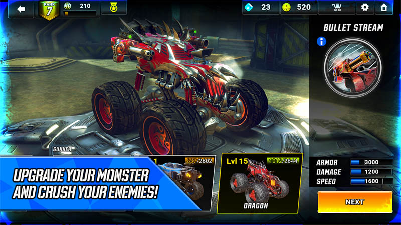 RACE Rocket Arena Car Extreme - Upgrade Your Monster And Crush Your Enemies