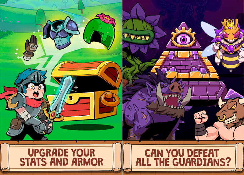 Card Guardians - Upgrade Your Stats and Armor Can You Defeat All The Guardians
