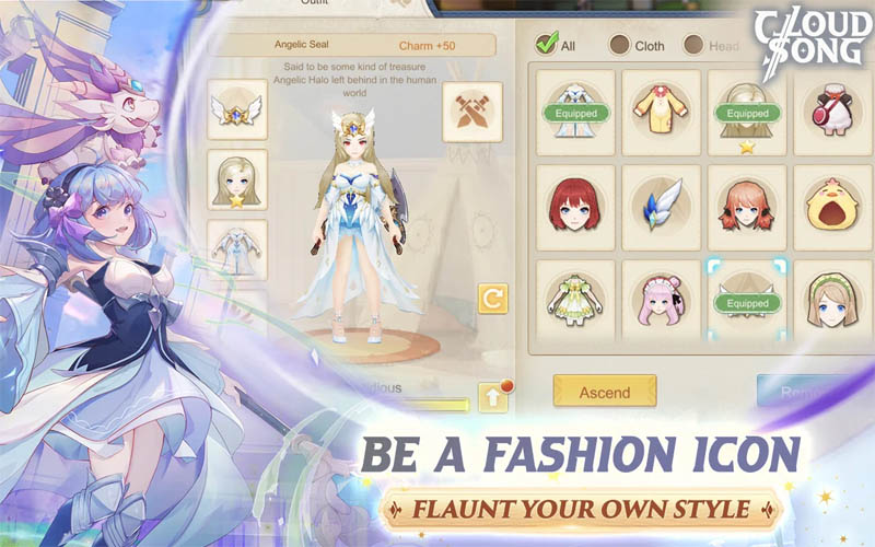 Cloud Song Saga of Skywalkers - Be A Fashion Icon