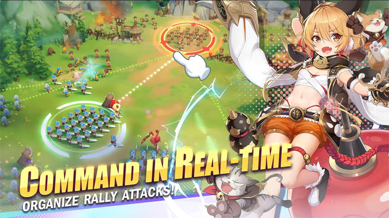 Dawn of Dynasty - Command in Real Time Organize Rally Attacks