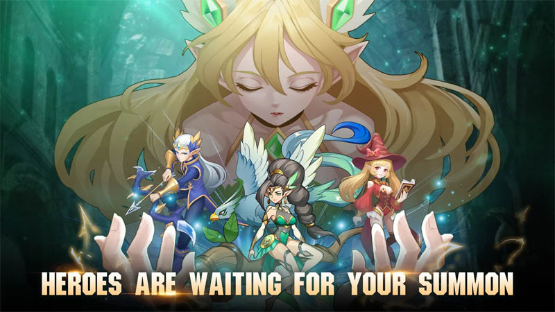 Knight s Raid Lost Skytopia - Heroes Are Waiting For Your Summon