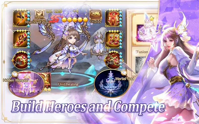 Soul Land Reloaded - Build Heroes and Compete
