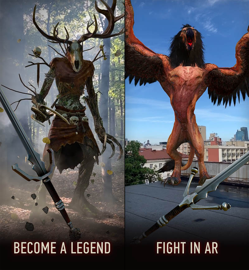 The Witcher Monster Slayer - Become a Legend Fight in AR