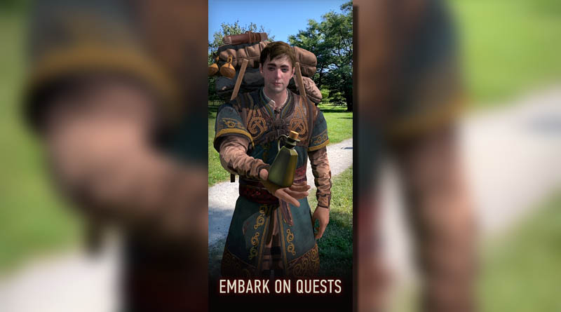 The Witcher Monster Slayer - Embark On Quests