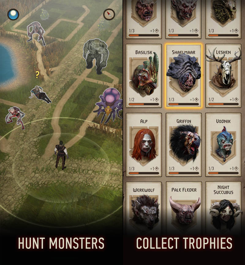 The Witcher Monster Slayer - Hunt Monsters Collect Trophies