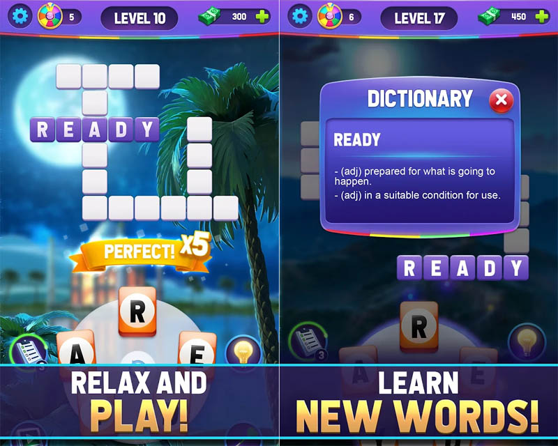 Wheel of Fortune Words of Fortune - Relax and Play Learn New Words