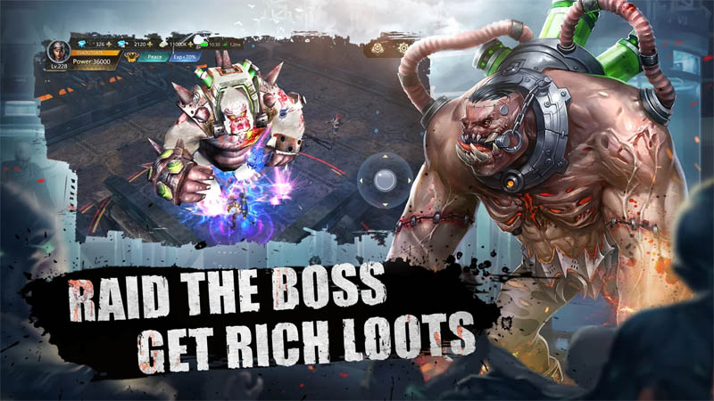 Doomsday of Dead - Raid The Boss Get Rich Loots