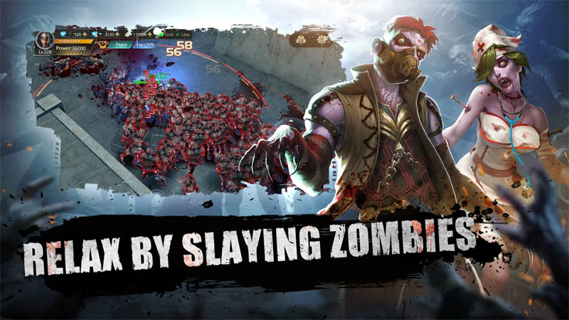 Doomsday of Dead - Relax By Slaying Zombies