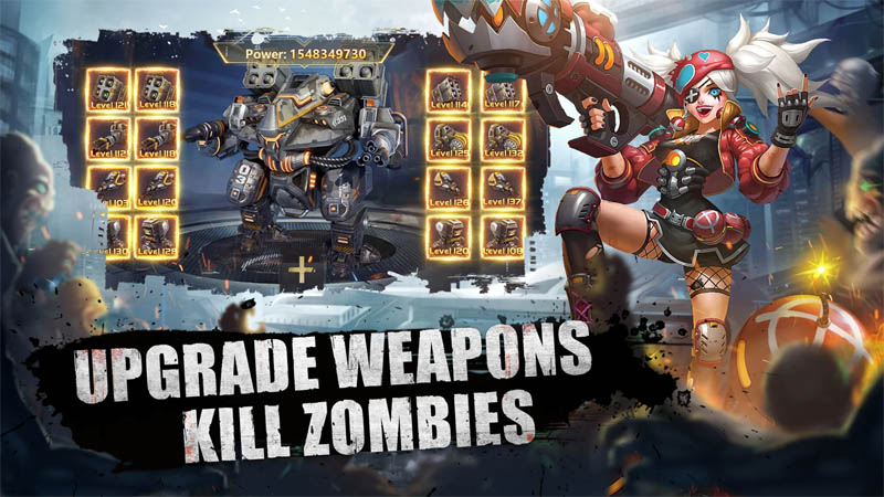 Doomsday of Dead - Upgrade Weapons Kill Zombies