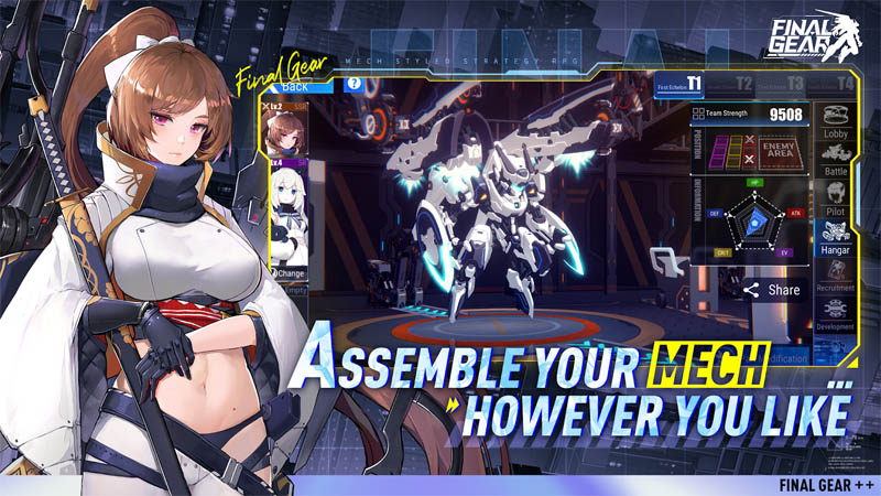 Final Gear - Assemble Your Mechs However You Like