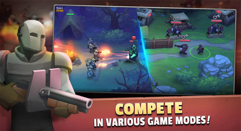 GUNS UP Mobile - Compete in Various Game Modes