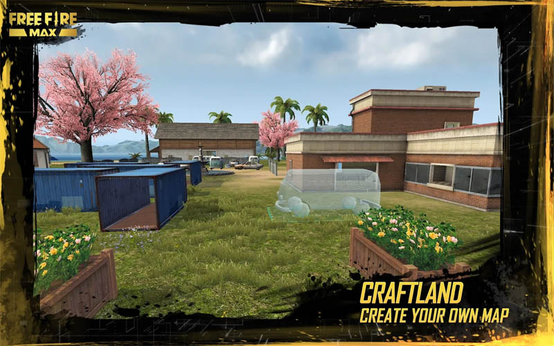 Garena Free Fire MAX - Craftland Create Your Own Map
