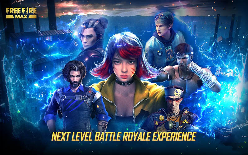Garena Free Fire MAX - Next Level Battle Royale Experience