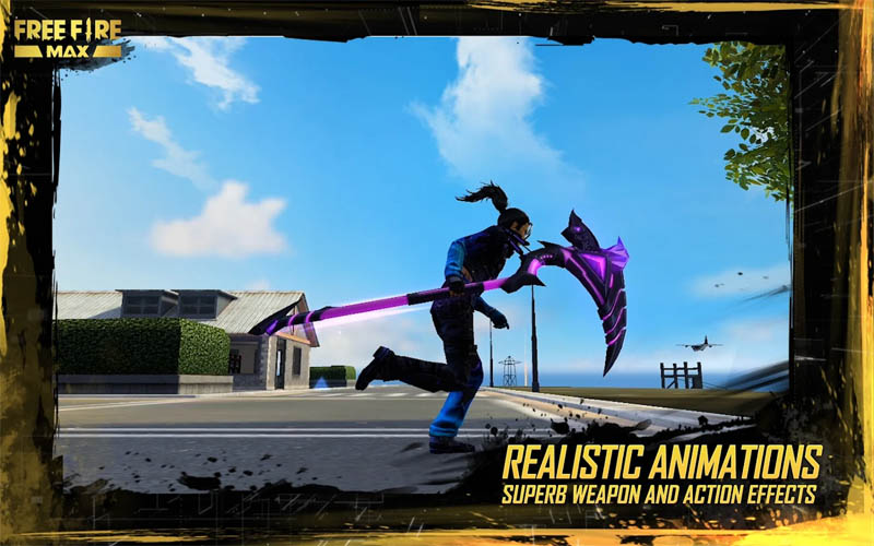 Garena Free Fire MAX - Realistic Animations