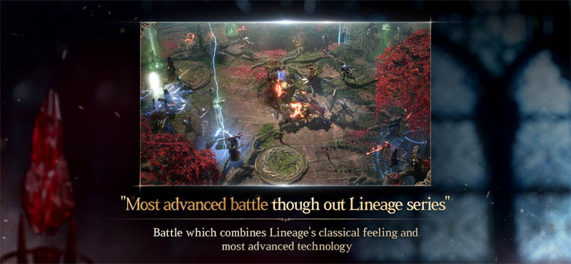 Lineage W - Most advanced battle through out Lineage series