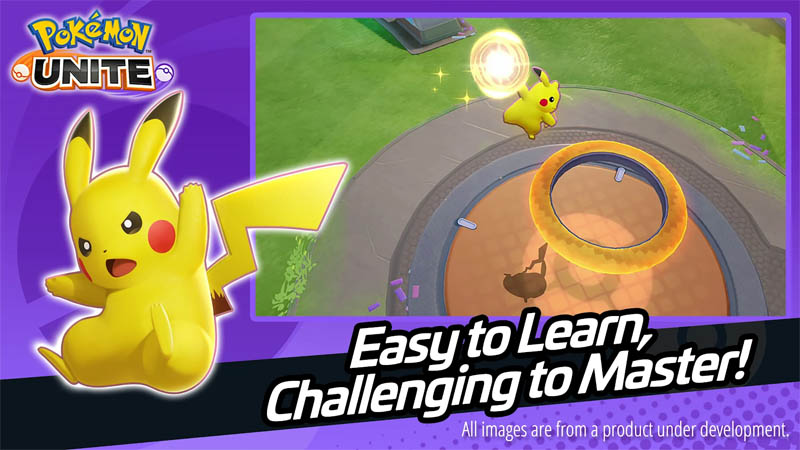 Pokémon UNITE - Easy to learn Challenging to Master