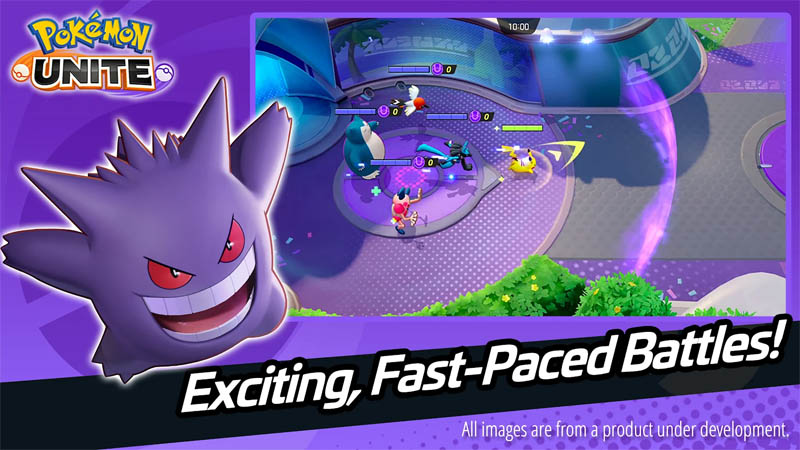 Pokémon UNITE - Exciting Fast-Paced Battles