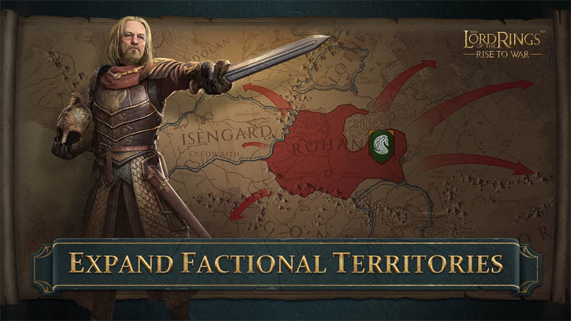 The Lord of the Rings Rise to War - Expand Factional Territories