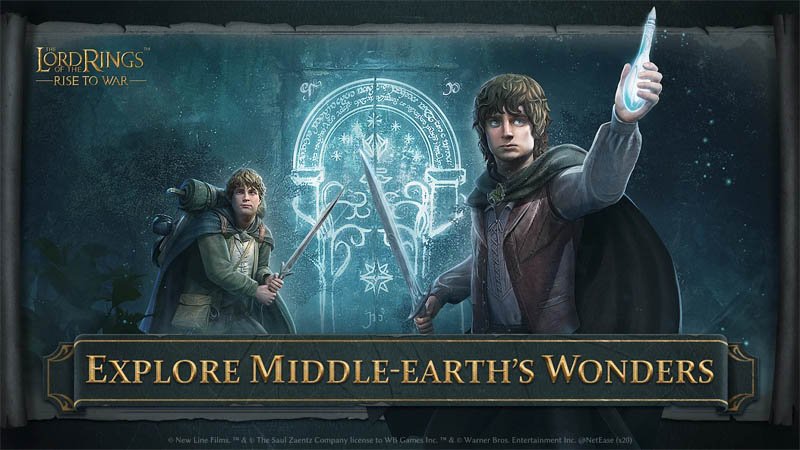The Lord of the Rings Rise to War - Explore Middle-Earth s Wonders