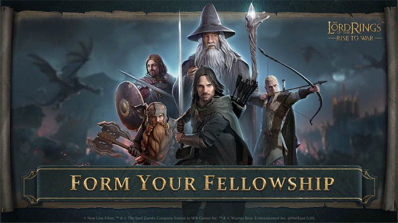 The Lord of the Rings Rise to War - Form Your Fellowship