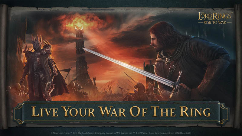 The Lord of the Rings Rise to War - Live Your War of the Ring