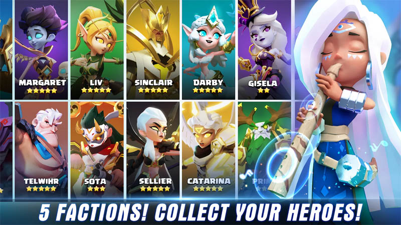 Valor Legends Eternity - 5 Factions Collect Your Heroes