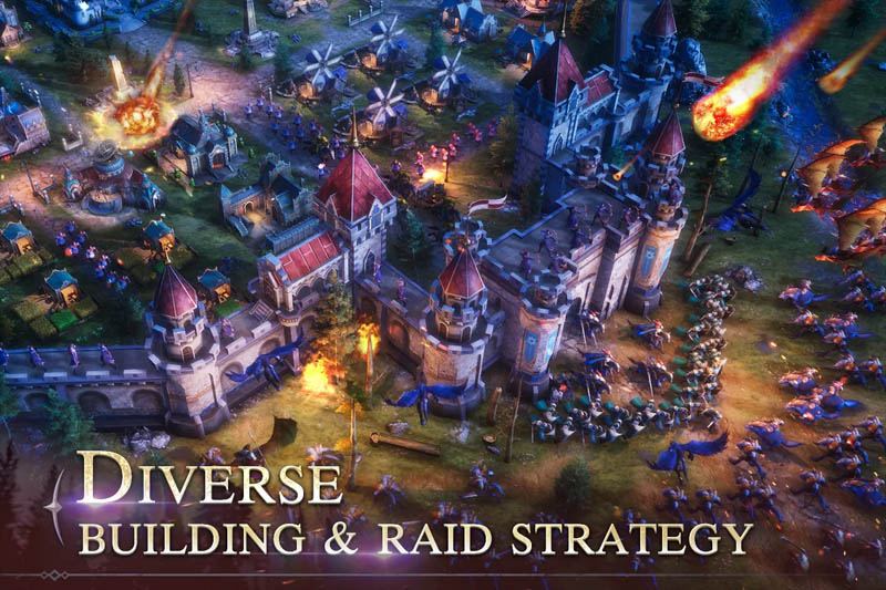Blood Empire - Diverse Building and Raid Strategy
