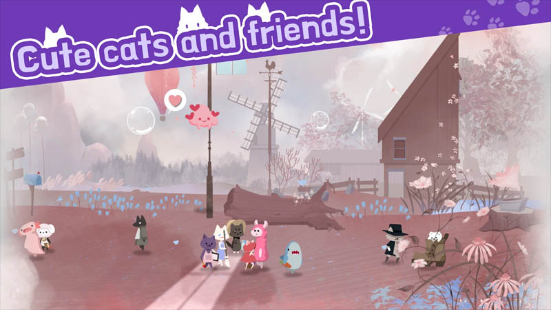 Cat Shelter and Animal Friends - Cute cats and friends
