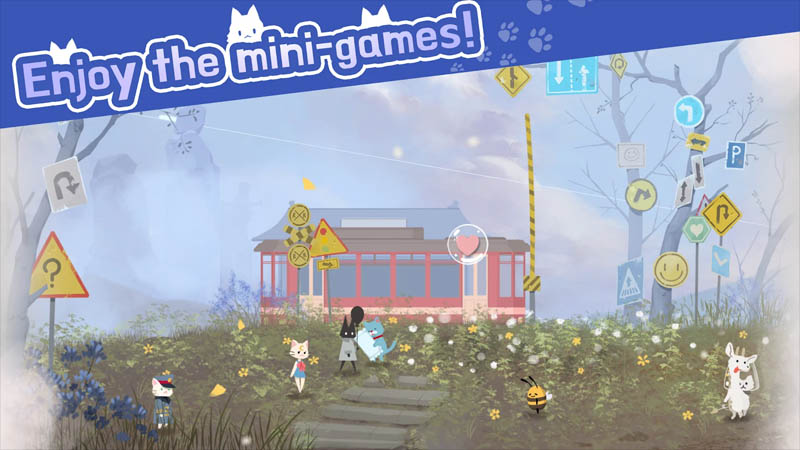 Cat Shelter and Animal Friends - Enjoy the mini-games