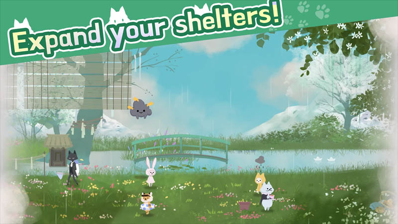 Cat Shelter and Animal Friends - Expand your shelters