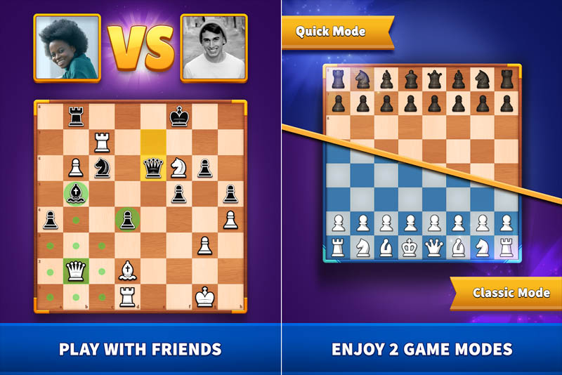 Chess Clash - Play With Friends Enjoy 2 Game Modes