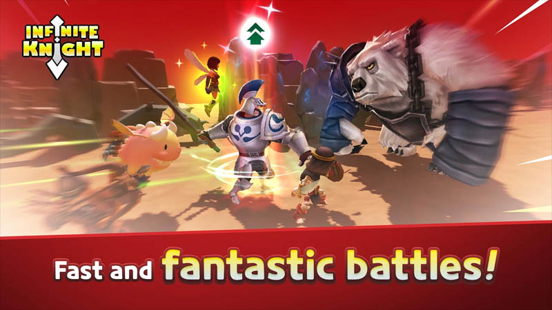 Infinite Knight - Fast and fantastic battles