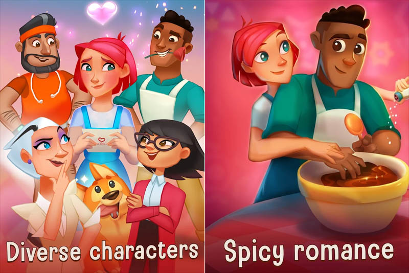 Love and Pies Merge - Diverse characters Spicy romance