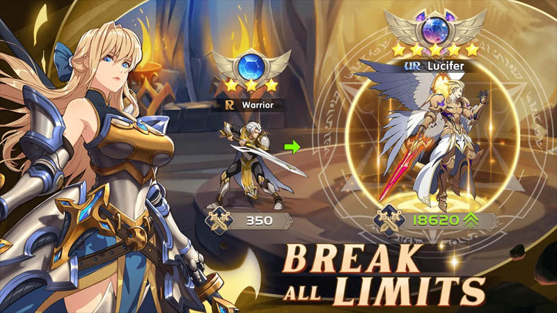 Mythic Heroes Idle RPG - Break All Limits