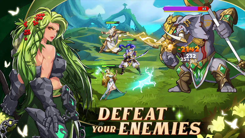Mythic Heroes Idle RPG - Defeat Your Enemies