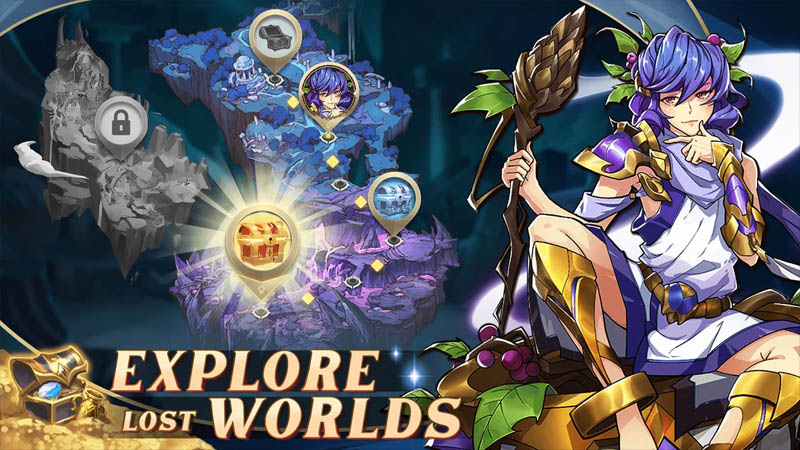 Mythic Heroes Idle RPG - Explore Lost Worlds