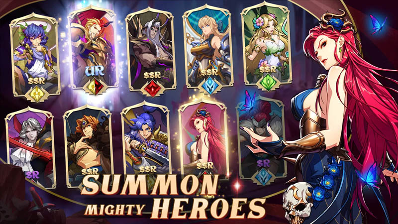 Mythic Heroes Idle RPG - Summon Mighty Heroes