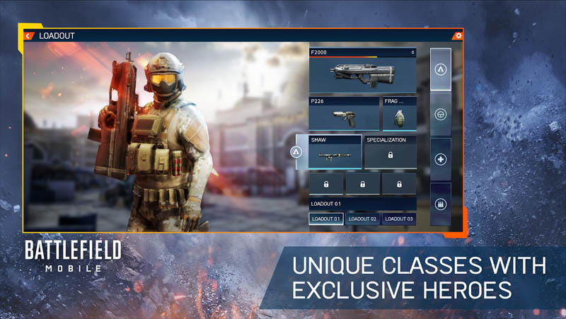 Battlefield Mobile - Unique Classes With Exclusive Heroes