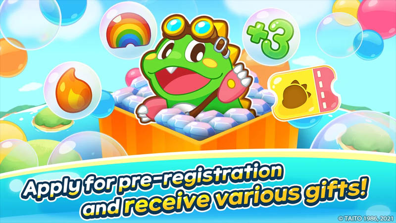 Bub s Puzzle Blast - Apply for pre registration and receive various gifts