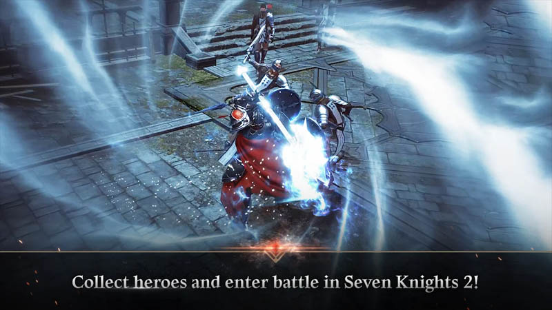 Seven Knights 2 - Collect heroes and enter battle in Seven Knights 2