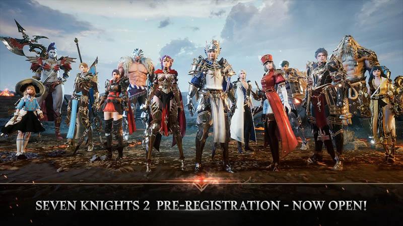 Seven Knights 2 - Pre-registeration now open