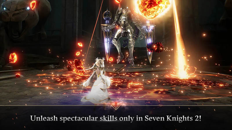 Seven Knights 2 - Unleash spectacular skills only in Seven Knights 2