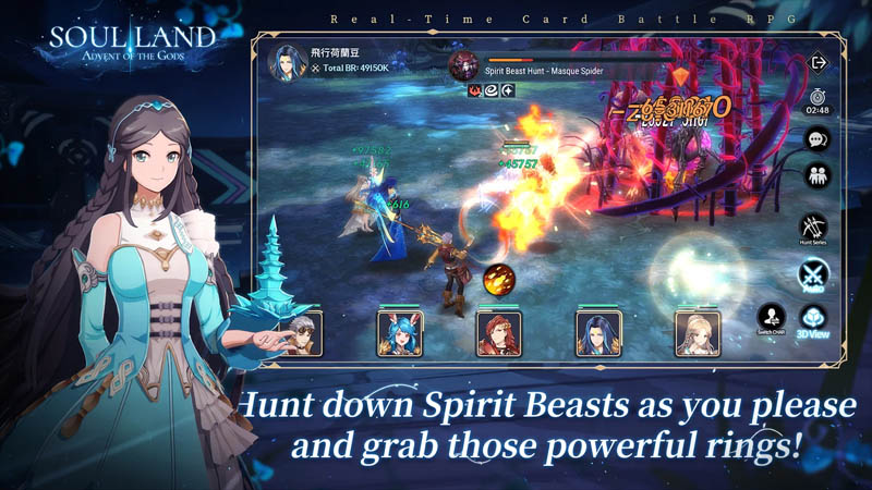 Soul Land Advent of the Gods - Hunt down Spirit Beasts as you please