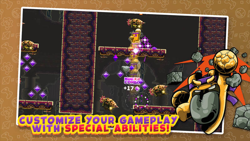 Super Mombo Quest - Customize your gameplay with special abilities